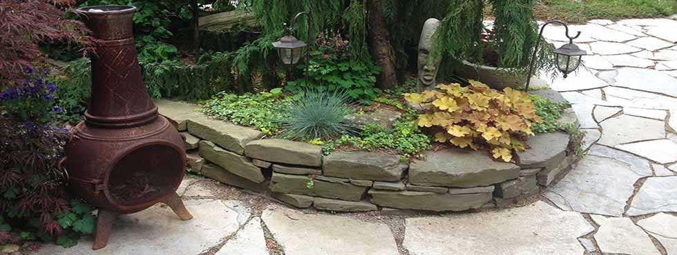 Backyard Landscaping Oakville : Silver river oakville and burlington landscaping